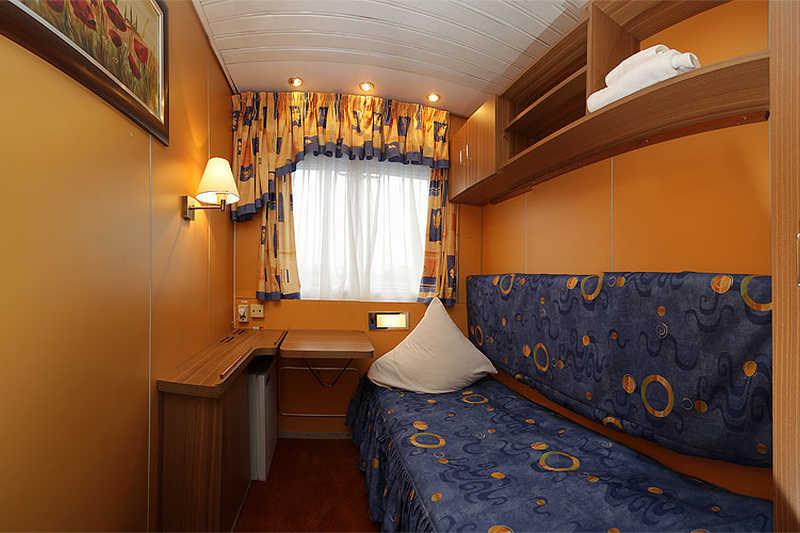 Single Cabin on MS Krasin