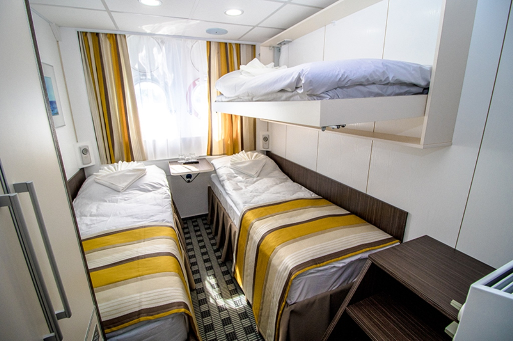 Triple Cabin on MS Konstantin Fedin