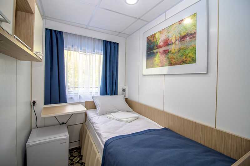 Single Cabin on MS Sankt-Peterburg