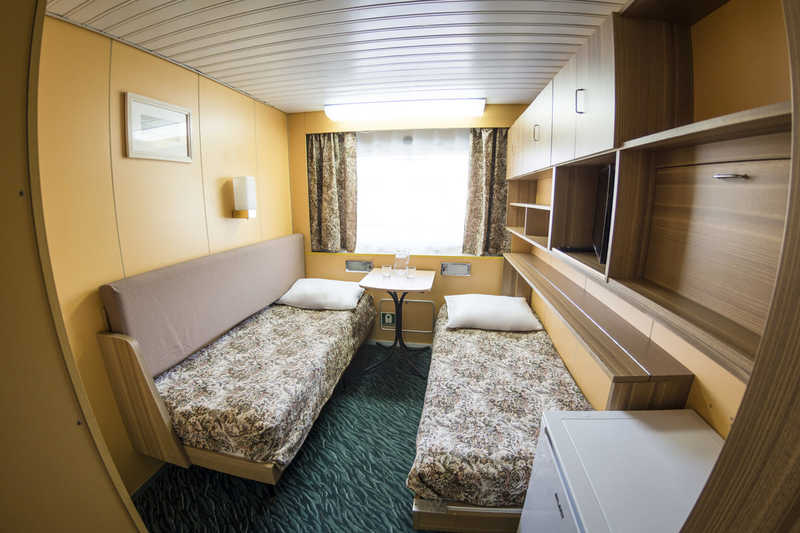 Stansard Twin Cabin on MS Moonlight Sonata