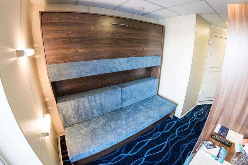 Single Cabin with a Balcony on MS Moonlight Sonata