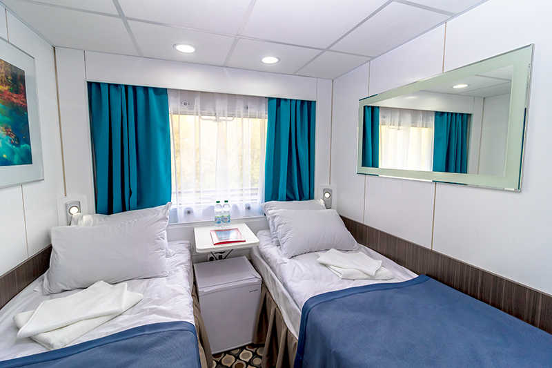 Twin Cabin on MS Kronshtadt