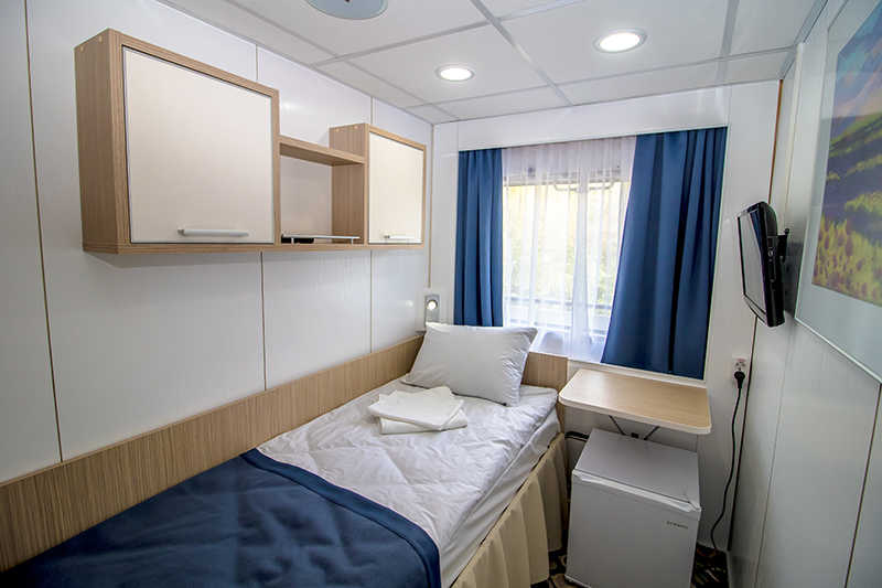 Single Cabin on MS Kronshtadt