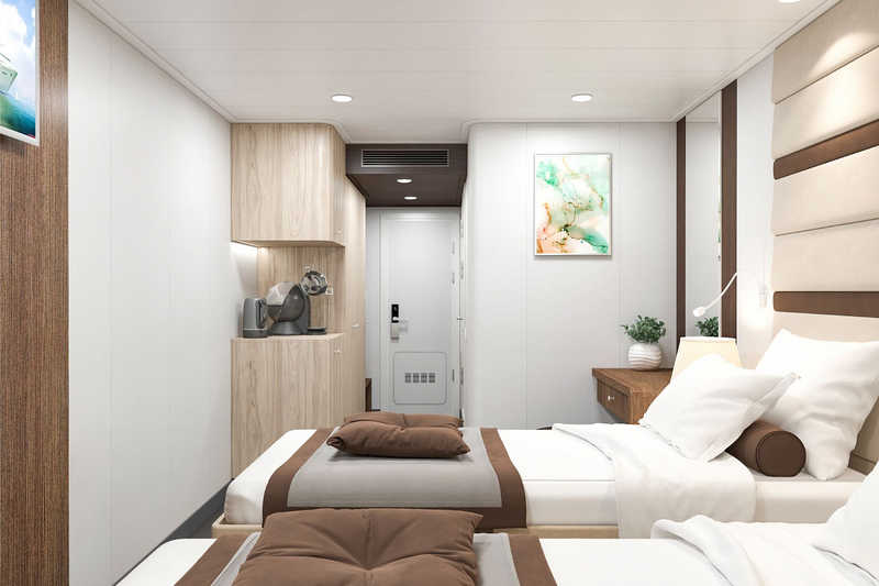Deluxe Cabin on MS Mustai Karim