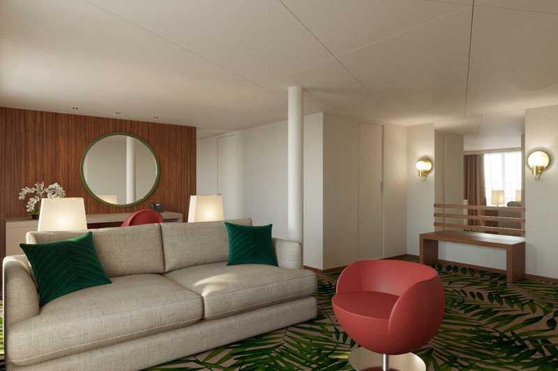Owner's Suite cabin on MS Mustai Karim