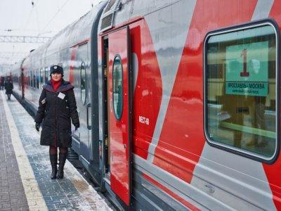 Yaroslavl - Moscow train