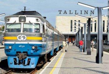 Tallinn - St. Petersburg - Moscow train